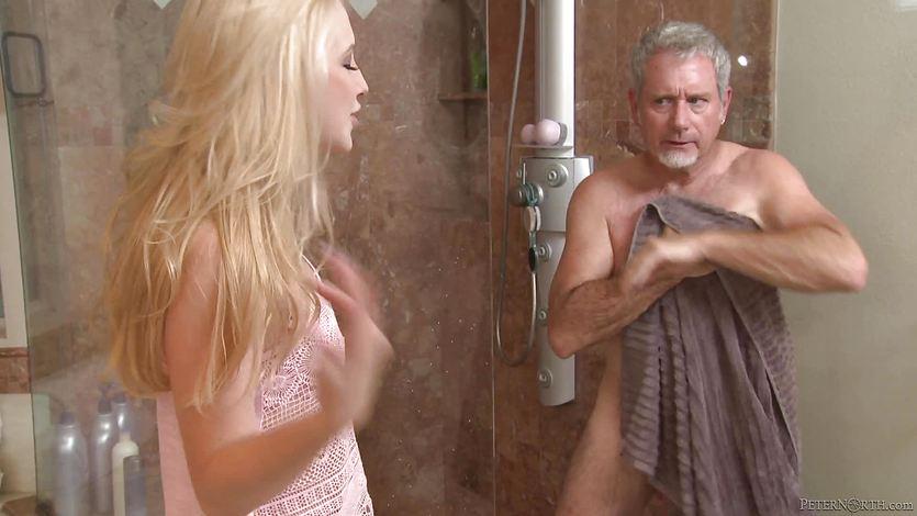 Mature man pussy cramming Samantha Rone