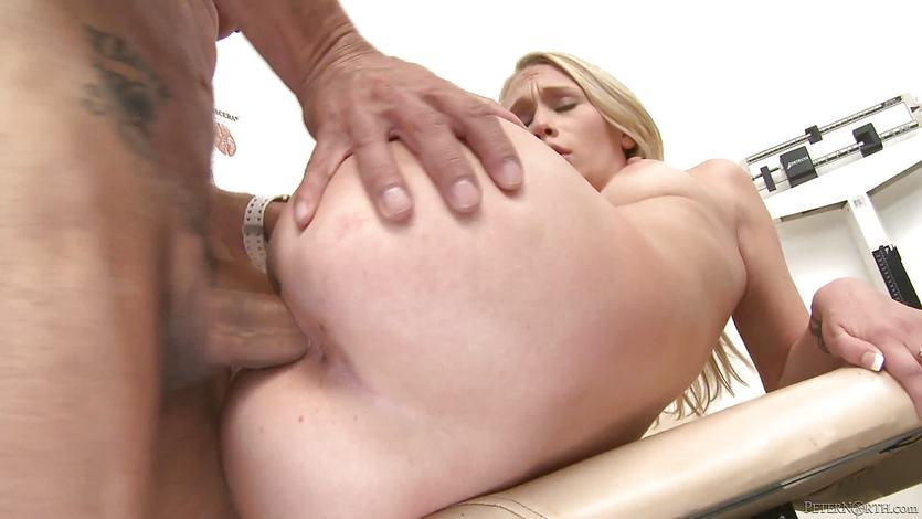 Pussy slamming Samantha Rone at the doctors