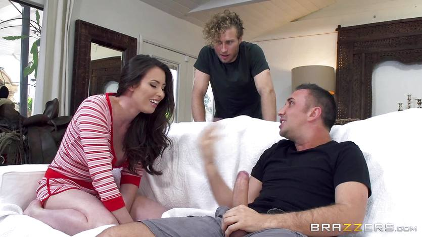 Casey Calvert getting double penetration