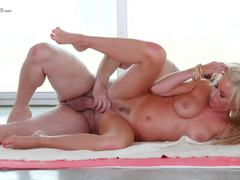 Beautiful milf loves to slurp and ride on hard cock