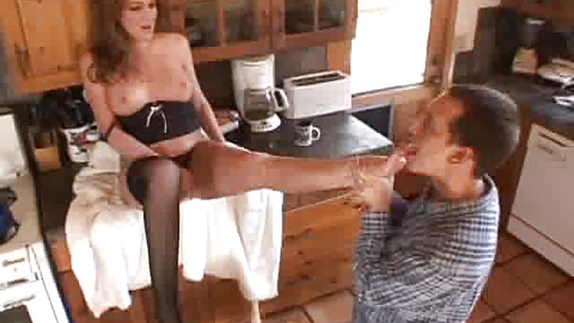 Fucking Stockings And Foot Fetish