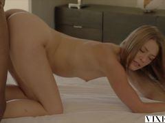VIXEN Gorgeous Real Estate Agent Kirsten Lee Fucks her Client