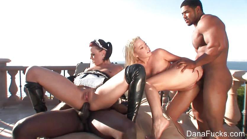 Dana DeArmond black cock love
