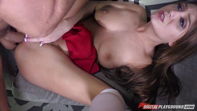 Dreamful pussyhole of Jojo Kiss crammed balls deep