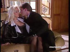 Silvia Saint Fucks the Lawyer Eats His Cum