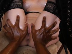 Iris Rose penetrated deep by a massive black cock