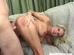 Blonde Bridgett Lee fucked from behind