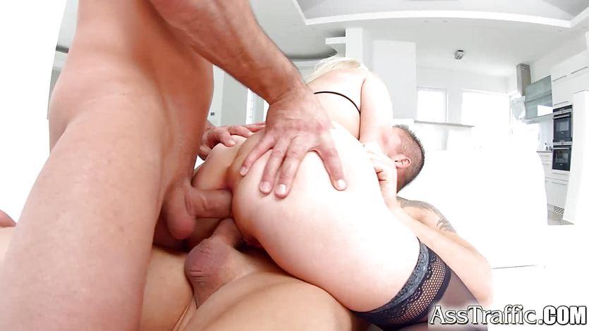 DP hardcore fucking with Nina Trevino