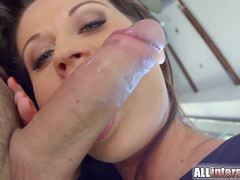 Creampied beauty rammed in that beautiful pussyhole