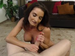 Cock blowing milf Silvia Saige