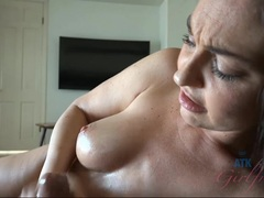 Brittany Shae strokes this hard cock