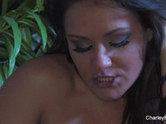 Busty Charley Chase playing with herself