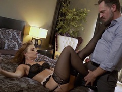 Nylons Sn 5 Britney Amber looks awesome in stockings