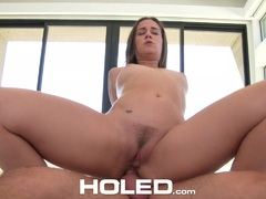 Sexy Cassidy Klein has a meat pole stuffed in her hole