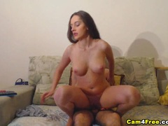 Cam fuck with horny couple
