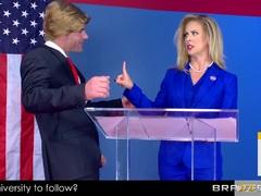 Cherie Deville takes a hard ride in politics