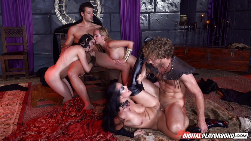 Game of blows pussy banging hot orgy
