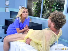 Cock examination with Alexis Fawx and Marsha May