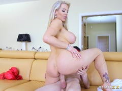 Ass and pussy ramming Rebecca More