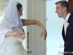 Simony Diamond gets cold feet on her wedding day