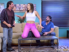 Abella Danger getting fucked by Charles Dera and Tommy Gunn