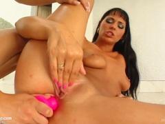 Virginia and Simona fisting lesbian scene at Fist Flush