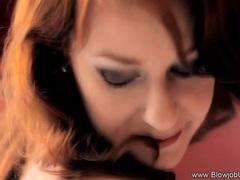 Sexy Redhead Blowjob MILF So Erotic