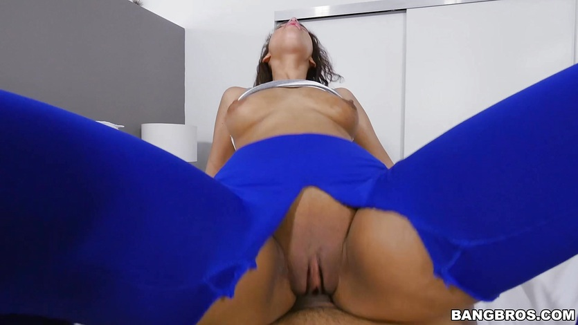 Kitty Catherine bent over and fucked