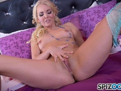 Pornstar with multiple ear piercing