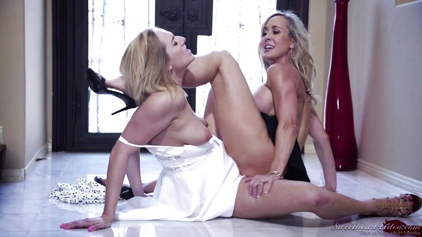 Brandi love lesbian porn one sweet