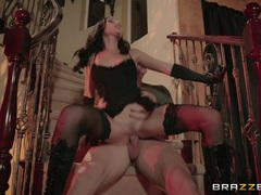 Kinky balls deep pussy pounded halloween babe Ariana Marie