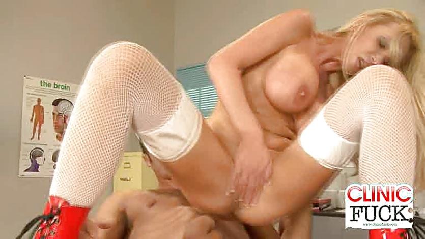 Nurse Nikki Benz fucked hard