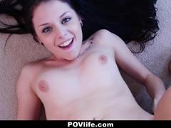PovLife Hot Teen Megan Sage Banged By Creepy Landlord