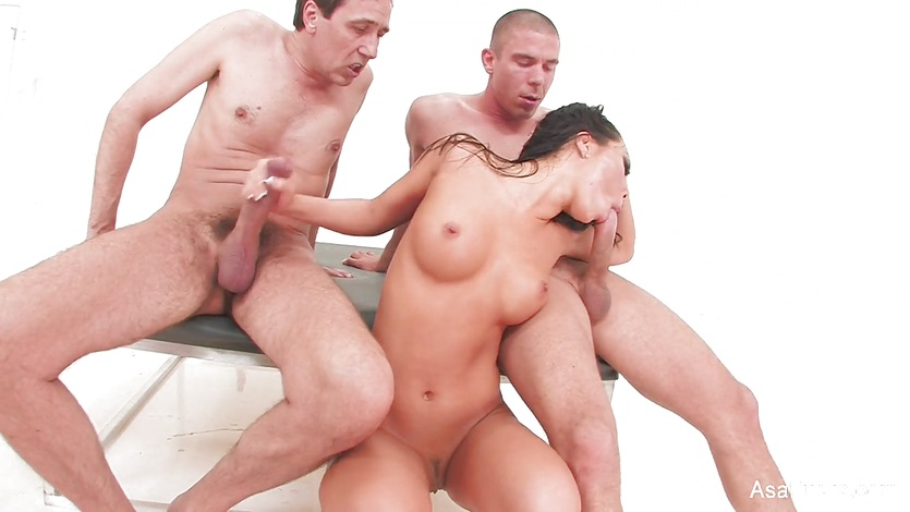 Asian hottie Asa can't get enough meat