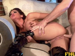 Wild Tory Lane gets her ass slammed