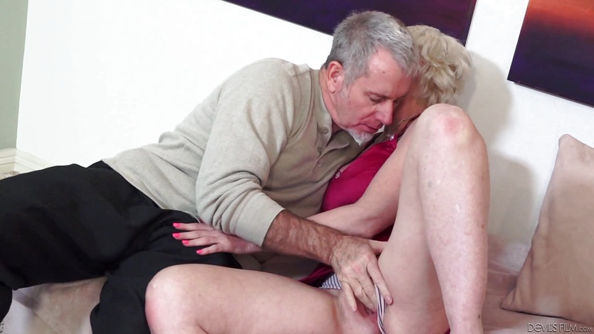 Anal banged nanny then spunked face