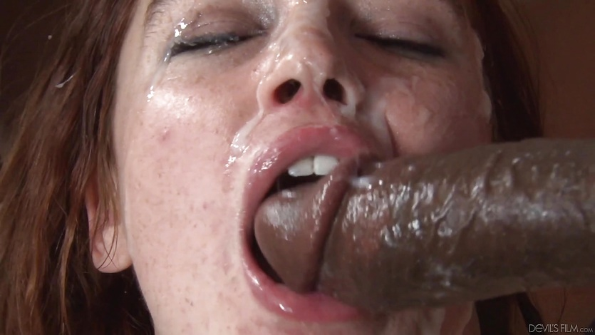 Dp and spunk guzzling over the face of Jodi Taylor