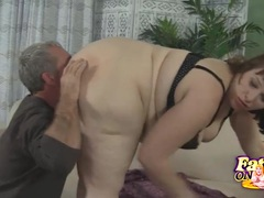 Horny BBW Cherie Pussy Licked