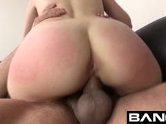 BANG Casting: Elektra Rose Cum Licking Squirting Babe