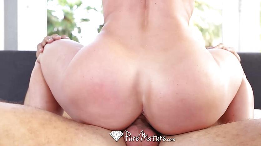 PUREMATURE Dick sucking Milf Kendra Lust fucked hard