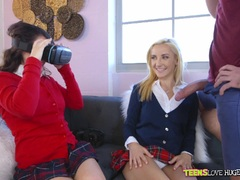 Virtual reality cock suck with Rosyln Belle and Stoney Lynn