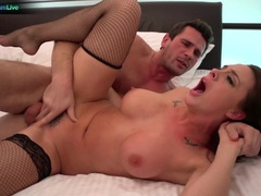 Babe Chanel Preston rough assfucking session