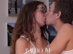 BAEB Neighbor fucking his gf makes Elena Koshka wet