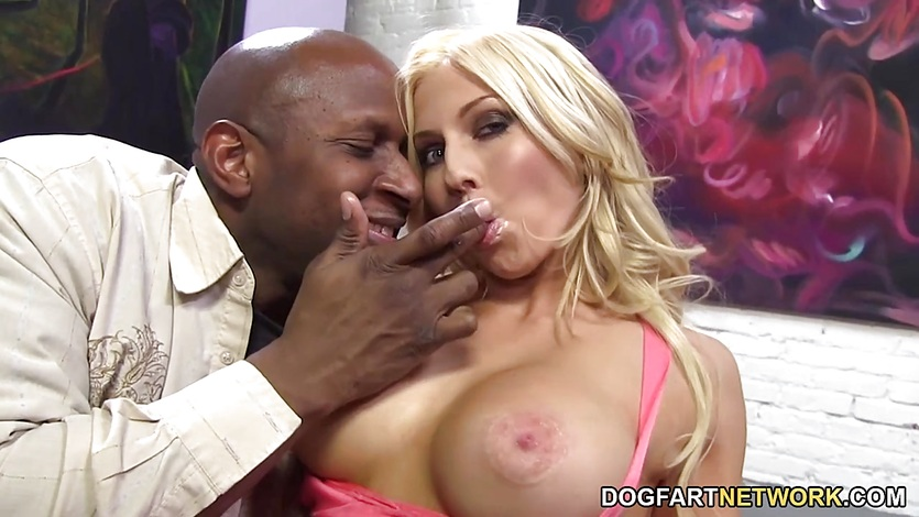 Christie Stevens Gets Her Pussy Nailed By BBC