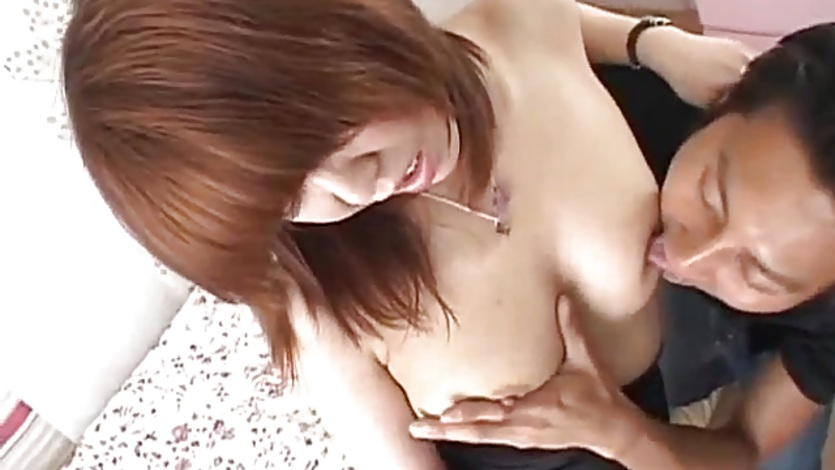 Sexy Ryo Hirase JApanese milf in blue gets cunt pounded deep