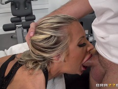 Busty blonde Courtney Taylor pounded hard