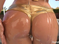 Naughty Keisha Grey wants a black cock