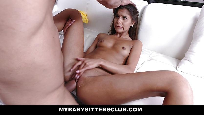 MyBabySittersClub - Naughty Teen Babysitter Fucks Teacher