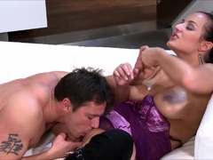 Busty Carmen Croft Getting Fucked From Behind