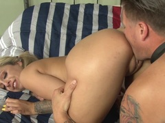 Horny Madelyn Monroe takes it up the asshole